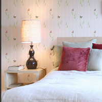 Hot sale natural light color wallpaper Non-woven wallpaper for home decor