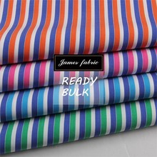 100% Cotton Spring/Summer Shirting & Dress Fabric, Cotton Colorful Stripe Fabric