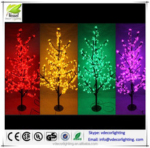 world best selling Led tree light products artificial cherry blossom tree outdoor lighted cherry tree