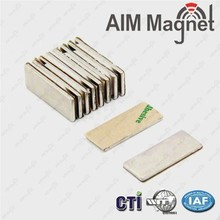 "N48 1/2 "" x 3/8 "" x 1/4 ""Magnet Supplier In China Best Service Magnet for Guitar"