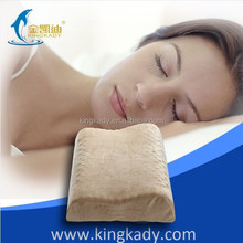 2015 New Memory Foam Adult Pillow with bulge point in middle and barre mark