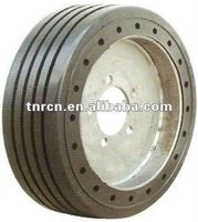 solid rubber tires for trailers