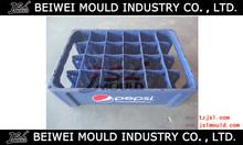 Molde por inyección plástico de cajas de cerveza
