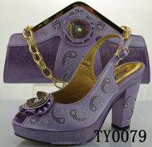 italian lilac shoes and matching bags beautiful hot selling ladies italian mens leather with factory price
