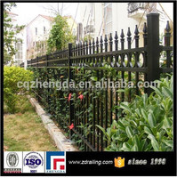 hot sale wrought iron fence spear points