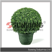 artificial Melon Grass hedge topiary boxwood ball outdoor