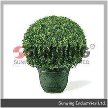 melone artificiale copertura erba topiaria bosso sfera esterna