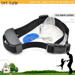 Sensitivity 7 Levels Adjustable Private Label Pet Collar No Bark Training