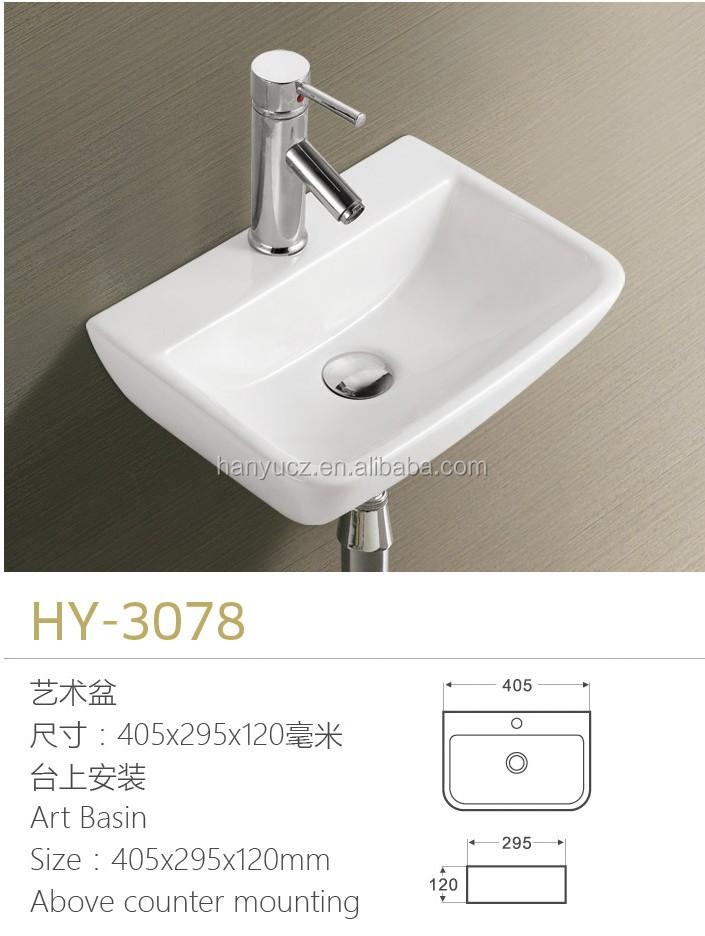 HY-3078 벽 패션 세라믹 싱크 작은 크기 판매-욕실 싱크 -상품 ID ...