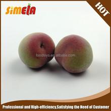 Simela Polystyrene peach simulated fruit