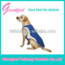 PVC plain fabric cooling vest for dogs(made in China)