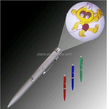 multi-function silver promotional led light ballpoint pen
