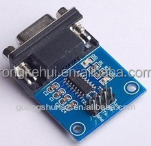 RS232 to TTL communication module, with FREE DUPONT LINE sensor