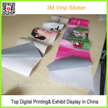 Customer 3M Sticker With Digital Printing For Wall Decoration