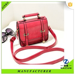 2015 buy cheap red traveling leather bag messenger