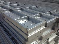 Hot Dip Galvanized Perforated Steel Plank for Ukraine