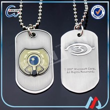 cheap matel dog tag for promotion with ball chain