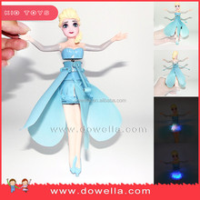 Disney audit factory hot sale high quality toy frozen flying elsa fairy for kids