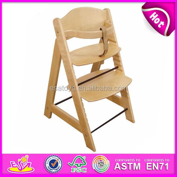 hochstuhl f r babys mit ce zulassung komfortable feste hohe stuhl f r baby holz hohen. Black Bedroom Furniture Sets. Home Design Ideas