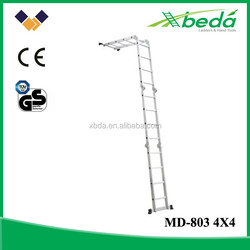 all new multifunction folding aluminum used ladders (MD-803 4x4)