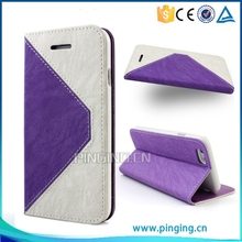 for ZTE Grand X2 case leather flip with stand and card slots luxury cell phone accessory