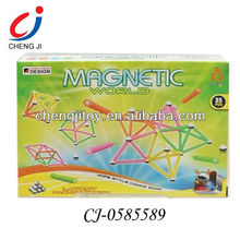 2013 early education 3D building block with light and music /magnet generator CJ-0585589