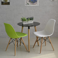 Wholesale wooden round dining table and chairs