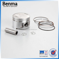 Motorcycle spare parts engine piston ring hot sale YBR125 height 38mm