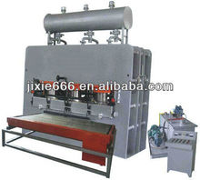 short cycle melamine laminating press machine/melamine lamination mdf short cycle hot press/