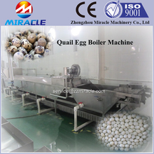 100% SUS304 quail egg boiling, cooling, shelling , quail egg peeling machine from Hard cooked and boiled quail egg line