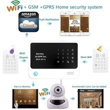hot sale home wireless WIFI/GSM alarm system GS-G90B with wifi IP camera based home security alarm system