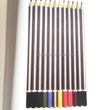 Fluorescent Silver Paint Coloring Wooden Pencils