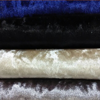 100% polyester diamond crush sofa curtain fabric