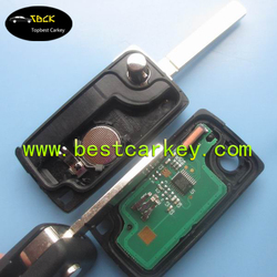 Well Sold 3 button CE0536 434 MHz car key for peugeot 307 remote key with ID46 Chip