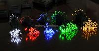 100 leds Solar decorative christmas tree light/holiday fancy festoon light/wreaths light
