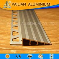 Decoration extrusion profiles with hole, aluminium tile trim aluminum corner tile trim aluminum tile trim profile
