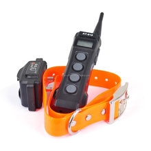 2 dogs control 1000m remote control smart dog training training with LCD Displayer