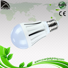 220-240V E26 E27 B22 A60 Aluminum 7watt led bulb