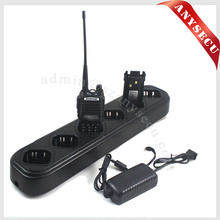 OEM 6 in 1 Model Handheld Two Way Radio Charger QSC-706S-D-82