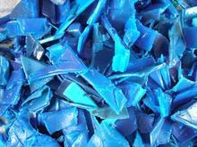 PP/HDPE/LDPE Blue Drum / Barrel Scrape/ Scrap/Flakes