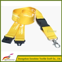 OEM Your Own Safety Breakaway Clip Bucke Lanyard for Company