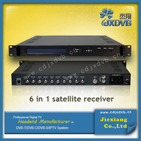 satellite receiver with internet tv connection