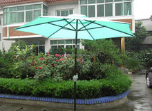 Cheap led remote control umbrella light,patio parasol