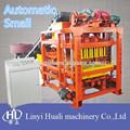 Productos comercializables!!! Qt4-23 bloque hueco de hormigón que hace la máquina en filipinas
