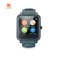 CE ROHS watch Phone with GPS/Heart Rate Monitor senior products
