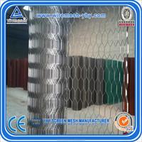 pvc coated and galvanized hexagonal wire mesh