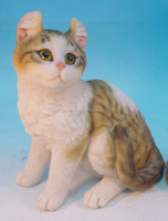 11.5 inch home and garden resin animal statue