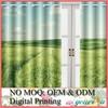 3D Digital Printed Curtain Fabric