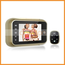 3.5 inch Electronic Peephole Camera Doorbell with Motion Detection Night Vision Video Recording Function