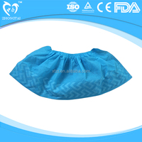 hot sale pp non-skid disposable medical anti slip shoe cover